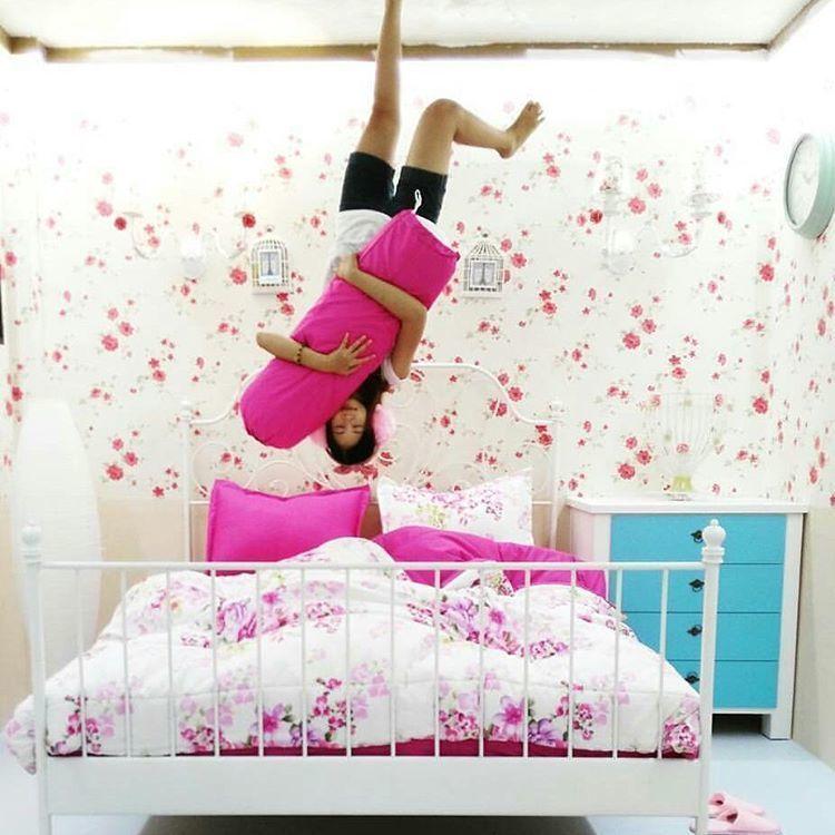 penampakan kamar tidurnya nih