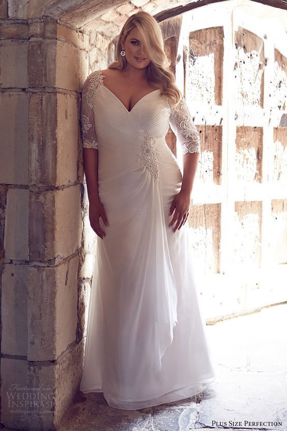 gaun panjang yang manis.