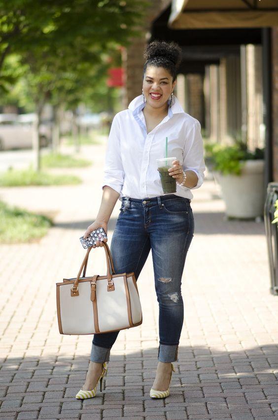 kemeja+celana jeans = jempol!