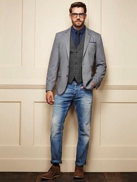 blazer dan jeans, oke juga.