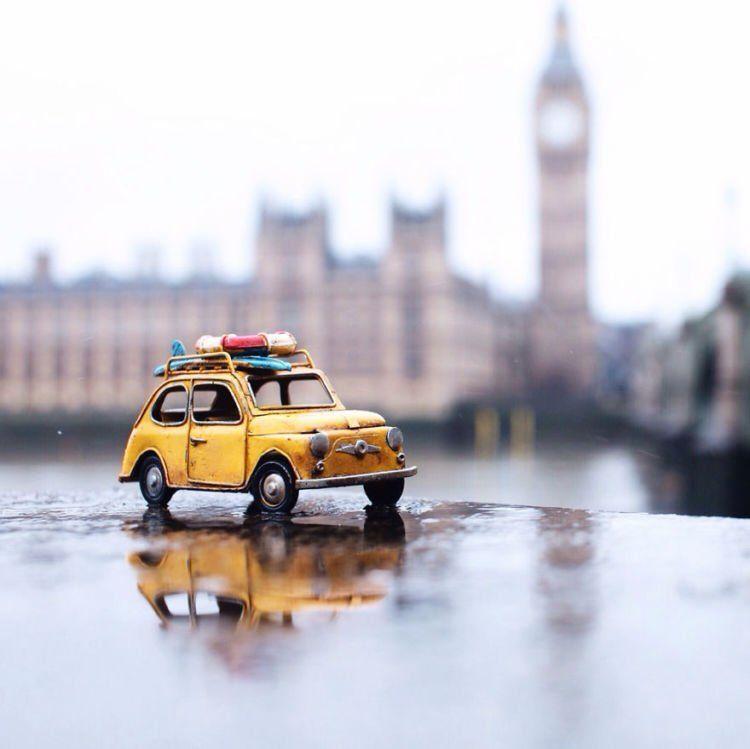 kamu, kapan ke London?