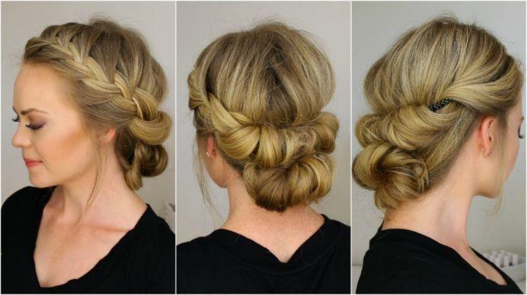 Model-Sanggul-Modern-dengan-Rambut-Sendiri