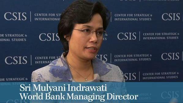 jadi orang terpenting kedua di bank dunia