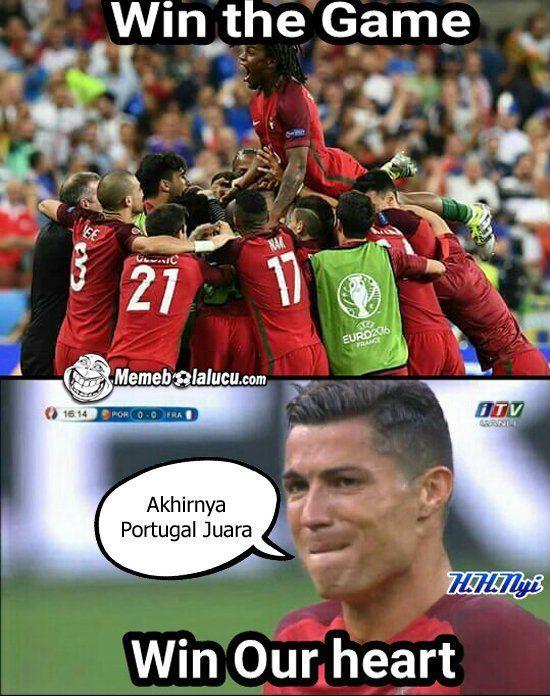 Ronaldo juaranya!