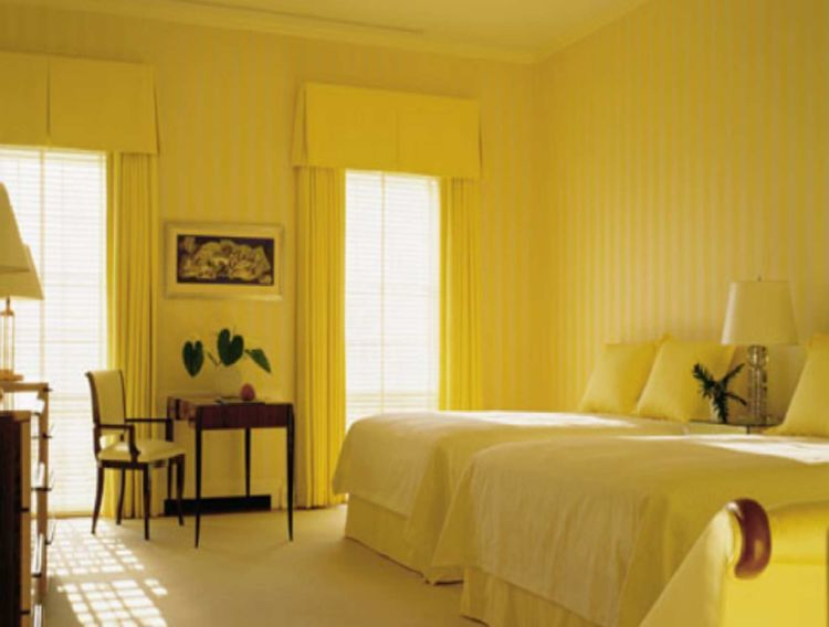 coba atur kamarmu bernuansa kuning