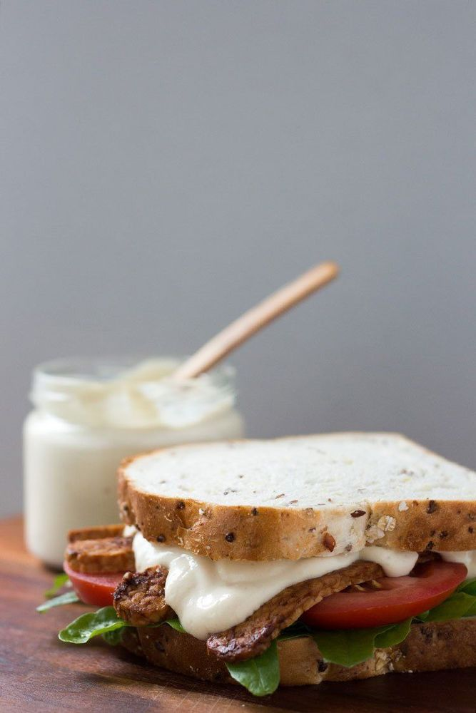 mayonnaise vegan enak!
