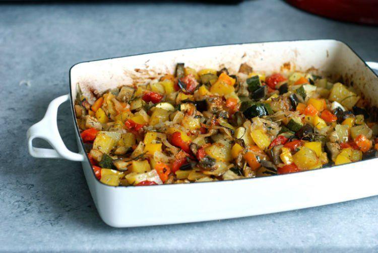 Sayuran panggang nyummy