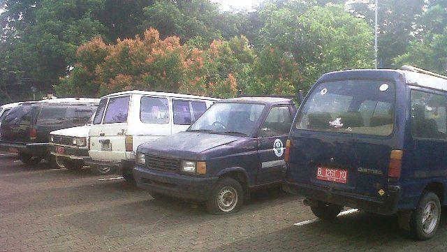 Parkiran yang katanya angker banget!