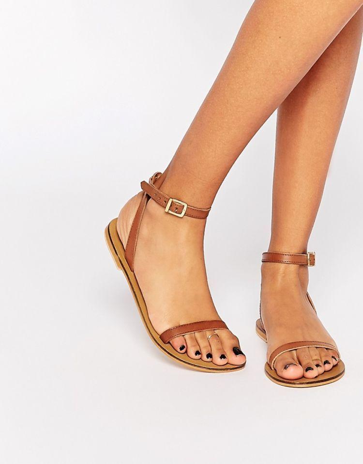 strap sandals~