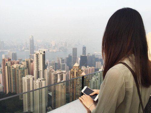 Jalan-jalan berdua bersama dia Hong Kong~