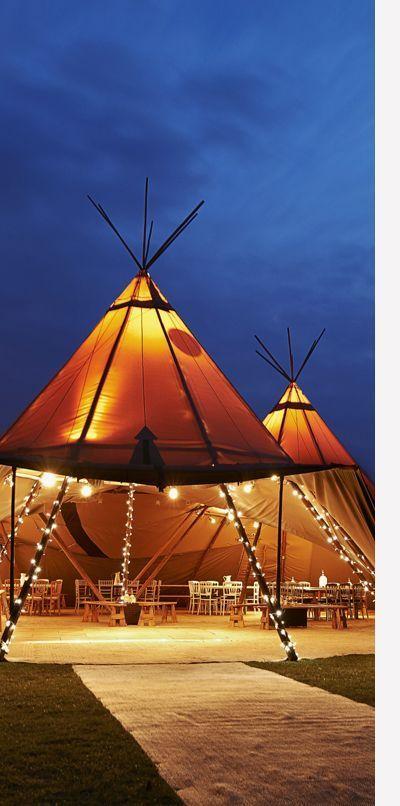 tenda kerucut mirip rumah orang mongolia