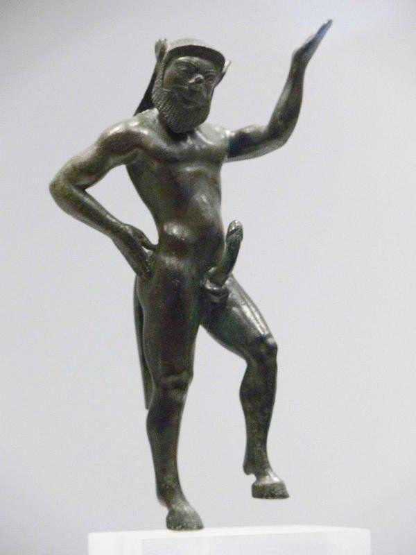 Satyr, dewa yang identik dengan keburukan di kepercayaan Yunani kuno