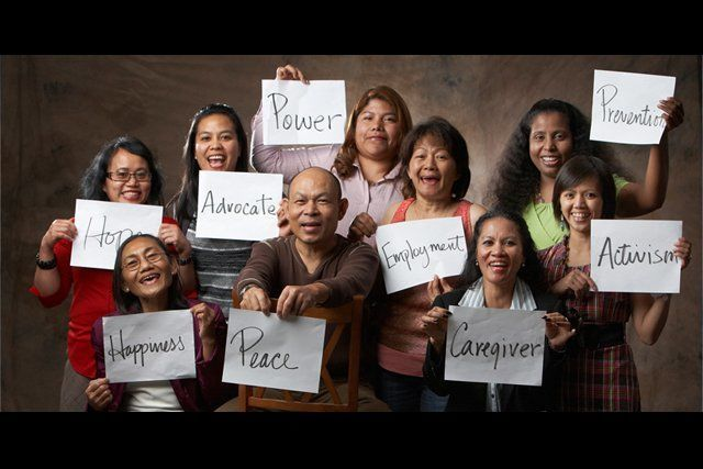 Ima menjadi aktivis anti Human trafficking