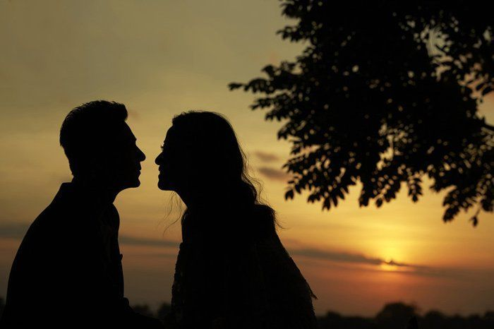sunset di bali yang romantis!