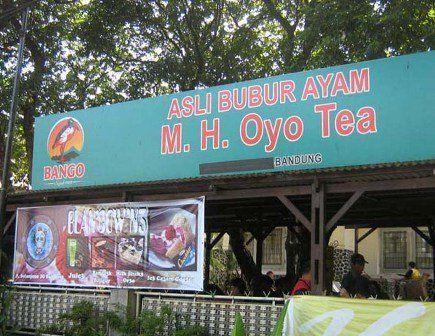 Bubur Ayam Mang Oyo teaa....