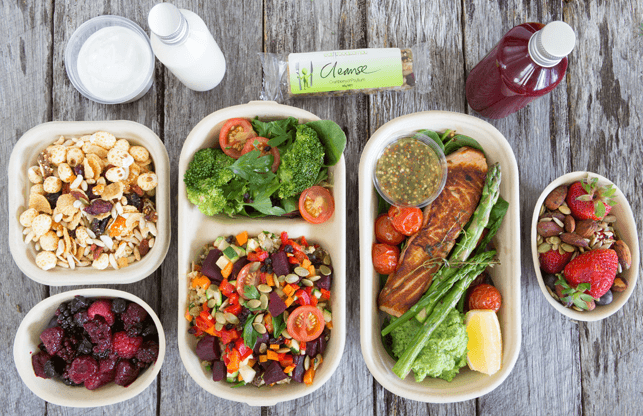Konsumsi makanan yang sehat.