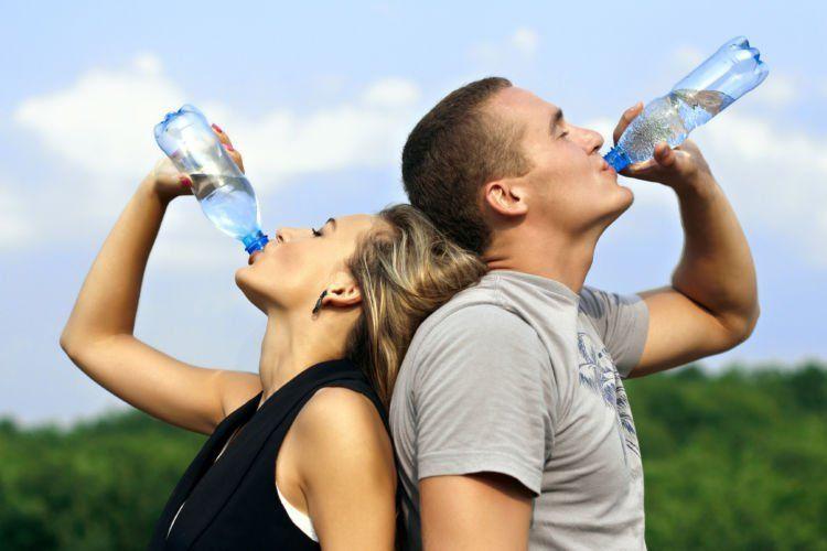 teratur minum air putih