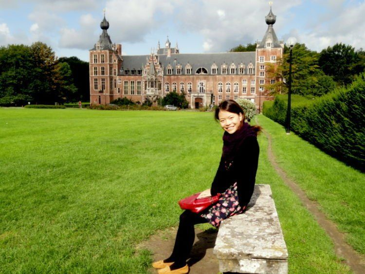 Belajar di KU Leuven Belgia.