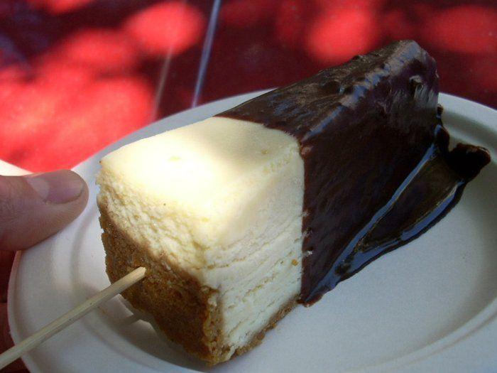 Frozen cheesecake dip