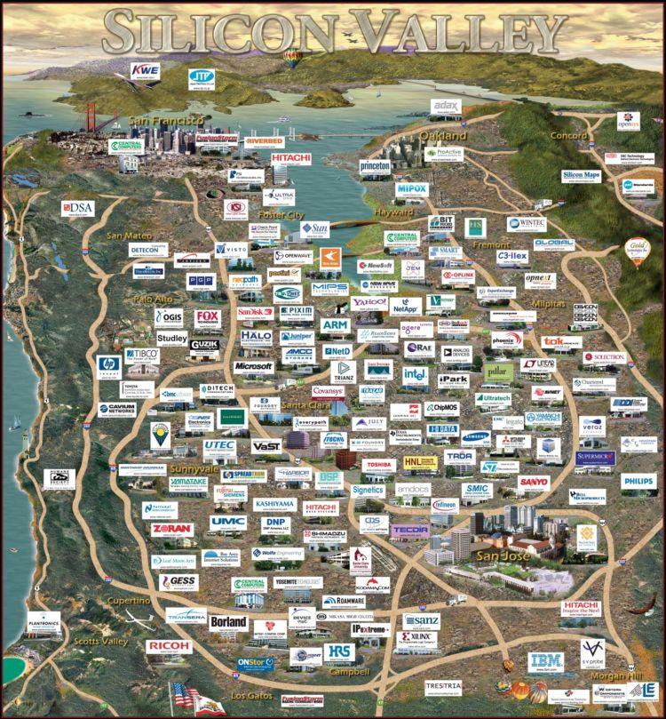 Ini dia Silicon Valley!