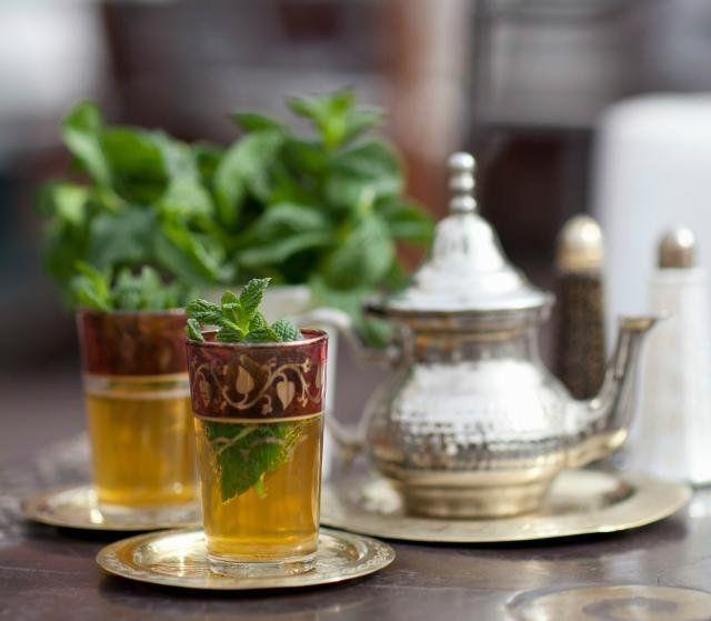 Mint Tea, minuman khas Maroko yang segarnya nampol!
