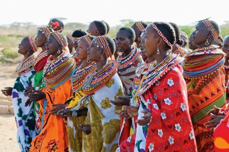 Bersatulah, wanita-wanita Samburu!