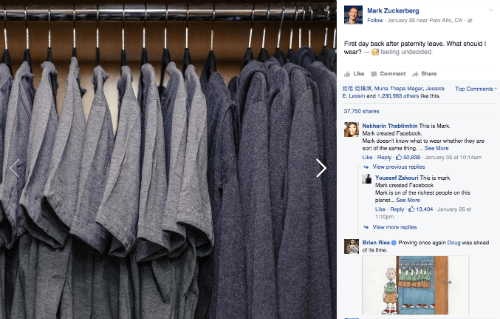 koleksi kaos zuckerberg