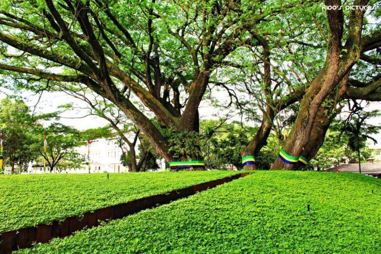 Ini dia taman labirin balikota Bandung