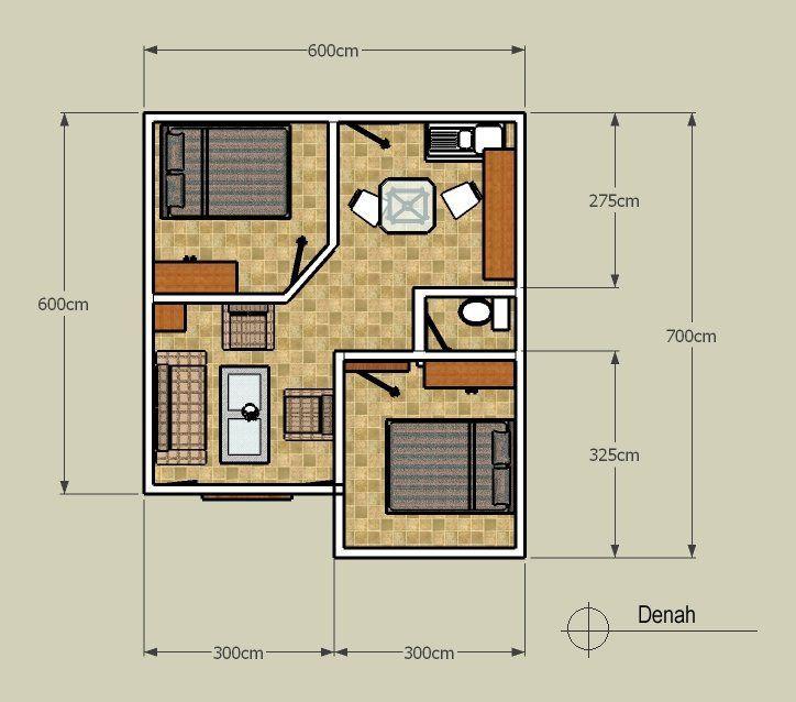Image Result For 60 Desain Denah Rumah Super