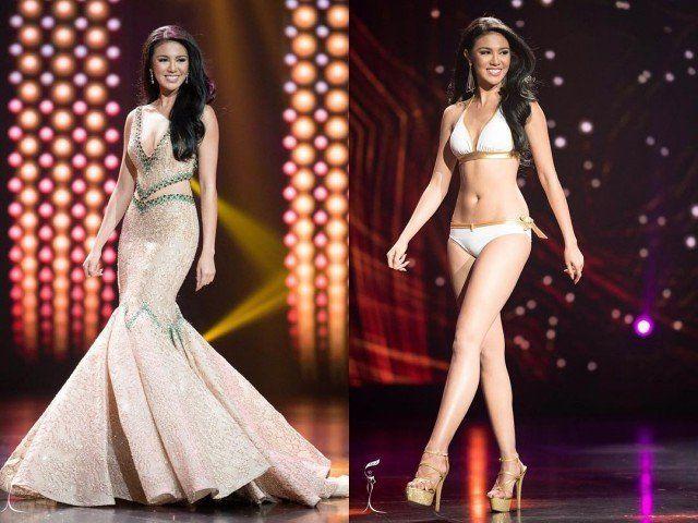 Menjadi wanita Asia pertama yang memenangkan kontes ini