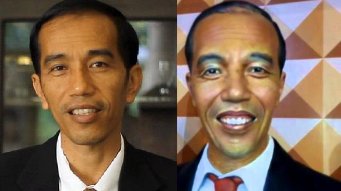 kalau wajah Jokowi jadi begini, gimana menurutmu?