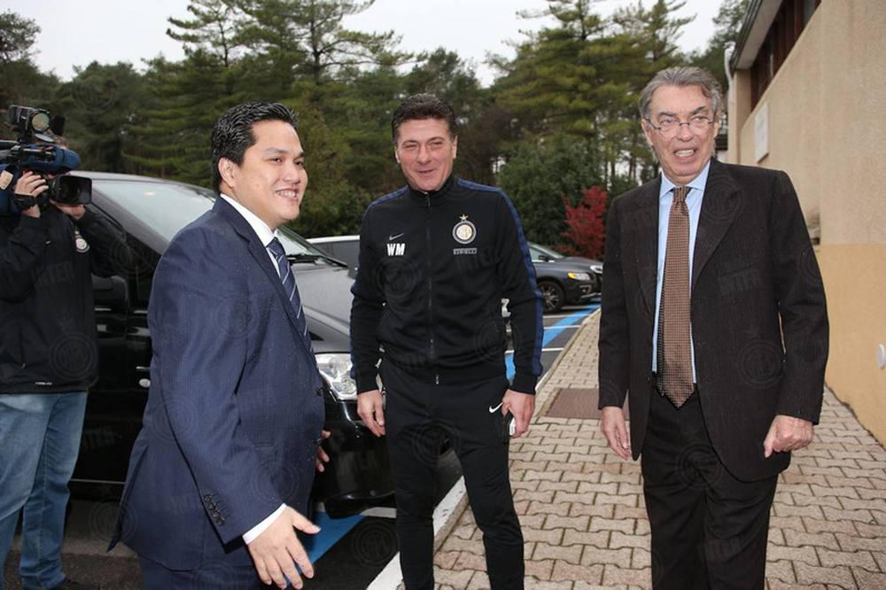 Erick saat tiba di Inter