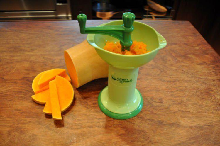 Baby food grinder