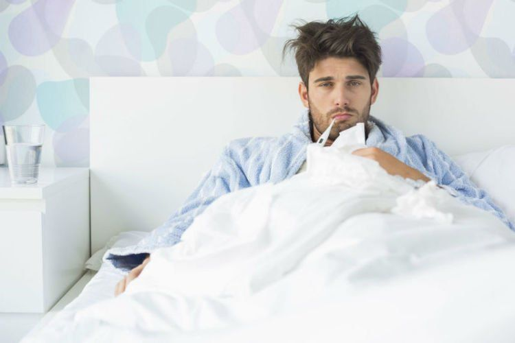 Masnya lagi flu