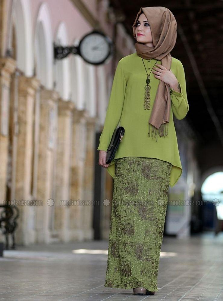 rok pensil batik