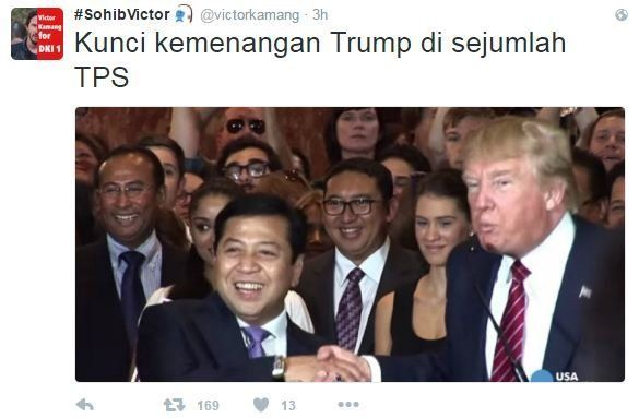 Meme presiden trump