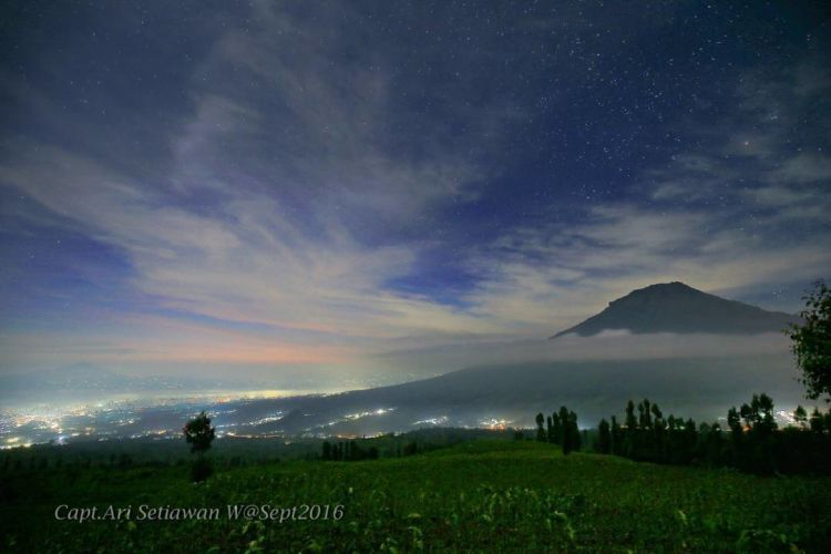 Langit bertabur bintang via @ari_setiawan