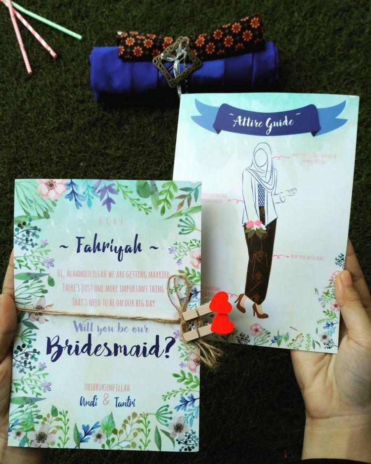 bridesmaid invitation