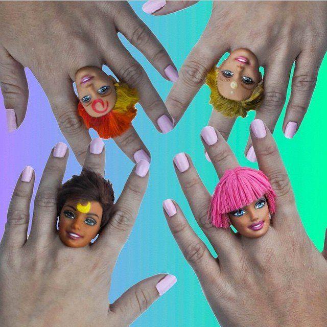 cincin barbie