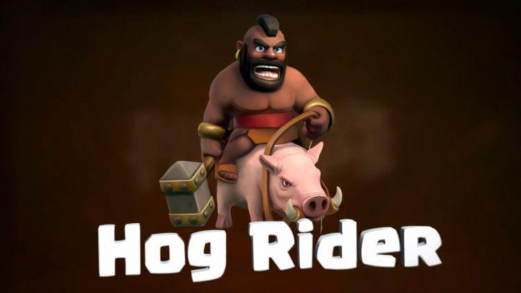 hog rider coc