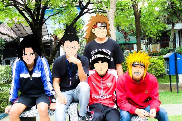 Temen-temennya Naruto