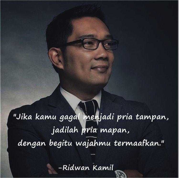 12 Quotes Ridwan Kamil Dari Yang Memancing Tawa Hingga
