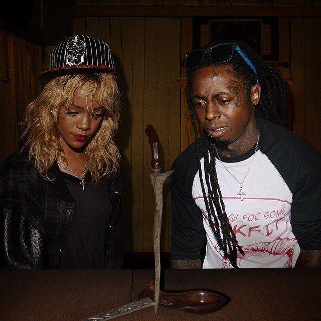 Rihanna sama Lil Wayne serius ye