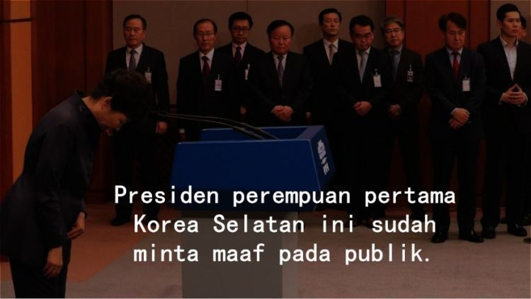 Ibu Presiden sudah meminta maaf.