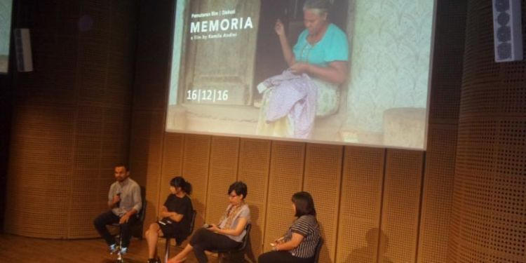 Peluncuran film Memoria