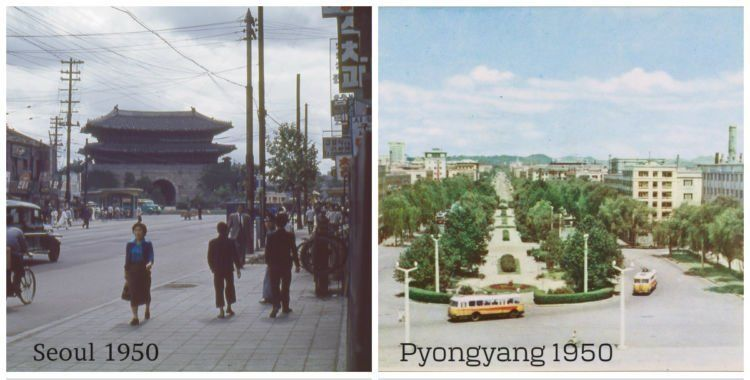 inilah kedua negara di tahun 1950an, setelah perang dunia 2