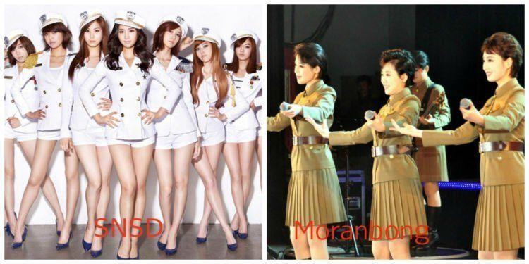 Cute yang mana guys? Ngomong-ngomong, Moranbong itu bentukan Kim Jong Un sendiri lho!