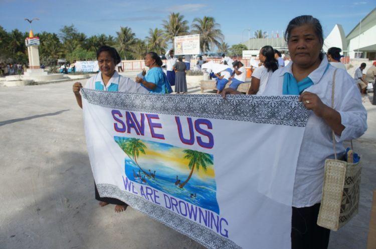 Penduduk Kiribati yang sebentar lagi kehilangan negara pulaunya