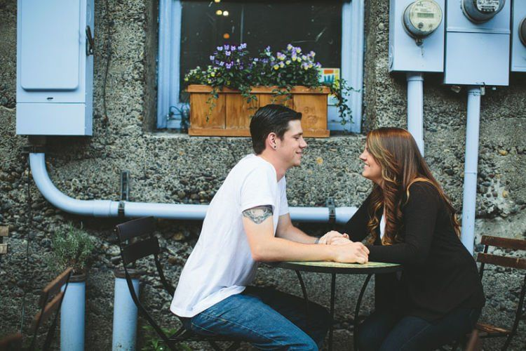 Seattle engagement photography at Pike Place Market