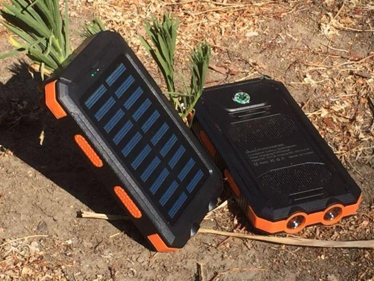 solar sharger anti air